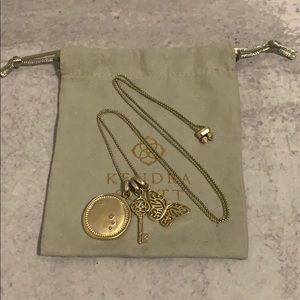 """(28"""") Thin Adjustable Chain Necklace in Gold"""